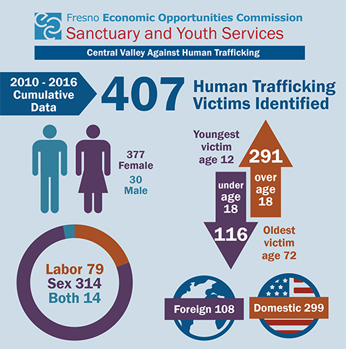 Human Trafficking Victim Data