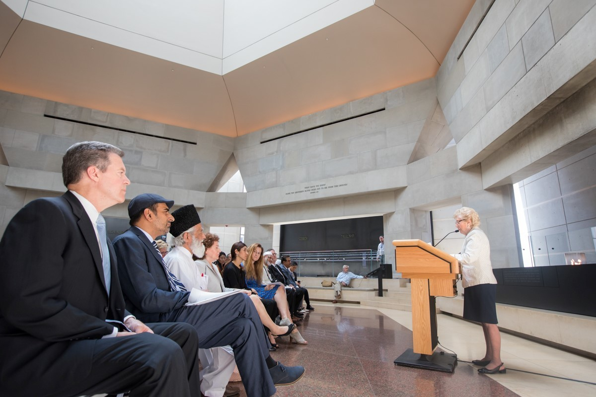 July 15: Survivor Irene Weiss reflects on the Holocaust.(Credit: Dept. of State)