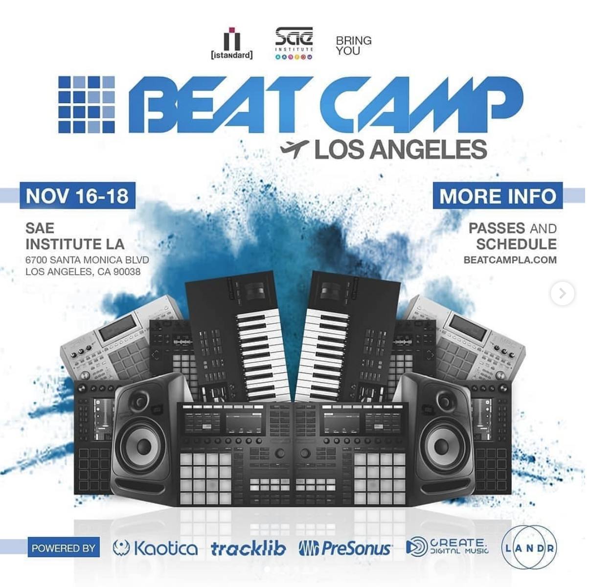 Beat Camp LA is THIS Weekend Limited Passes Available