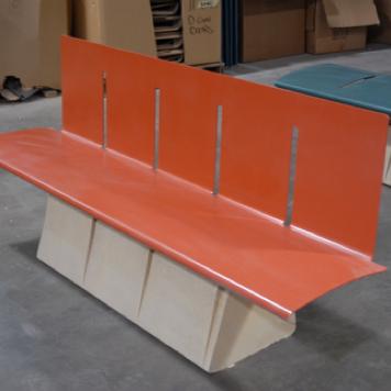 Urban GFRC  Seat Wall