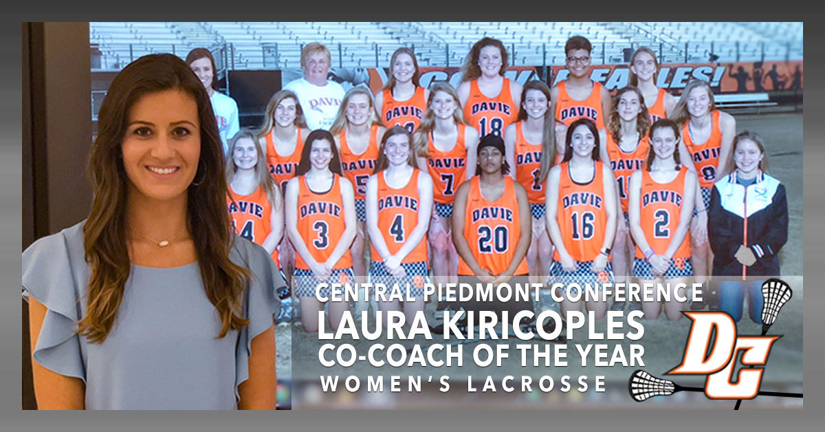 CPC Co-Coach of the Year for Lacrosse, Laura Kiripicoples