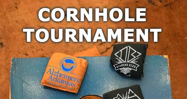 Cornhole for Alzheimer's Arkansas at Diamond Bear Brewing Company February 23rd