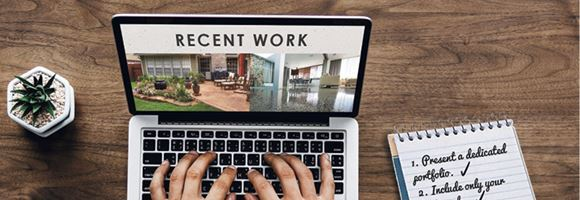 4 Tips for More Effective Portfolio Images on Your Website