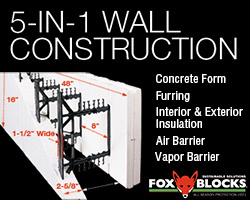 5-in-1 Wall Construction