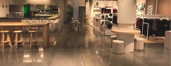 Polished Concrete Helps Deliver the 'Neighborhood Goods'