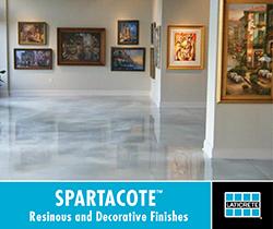 Spartacote from Laticrete