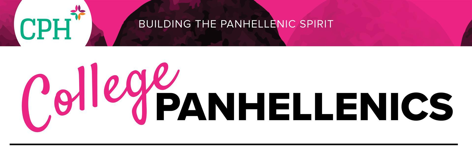 College Panhellenic newsletter header