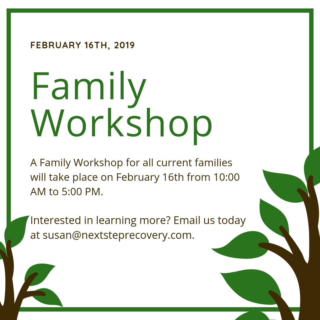 Join us for a Family Workshop