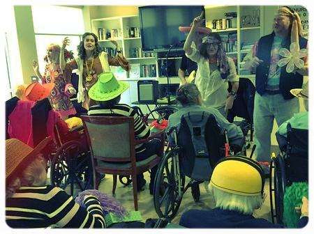 Purim at the JHF