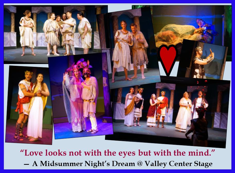 Midsummer collage image
