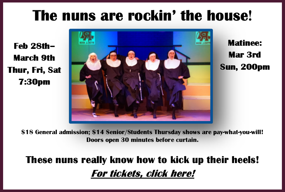 The nuns are rocking the house! Image