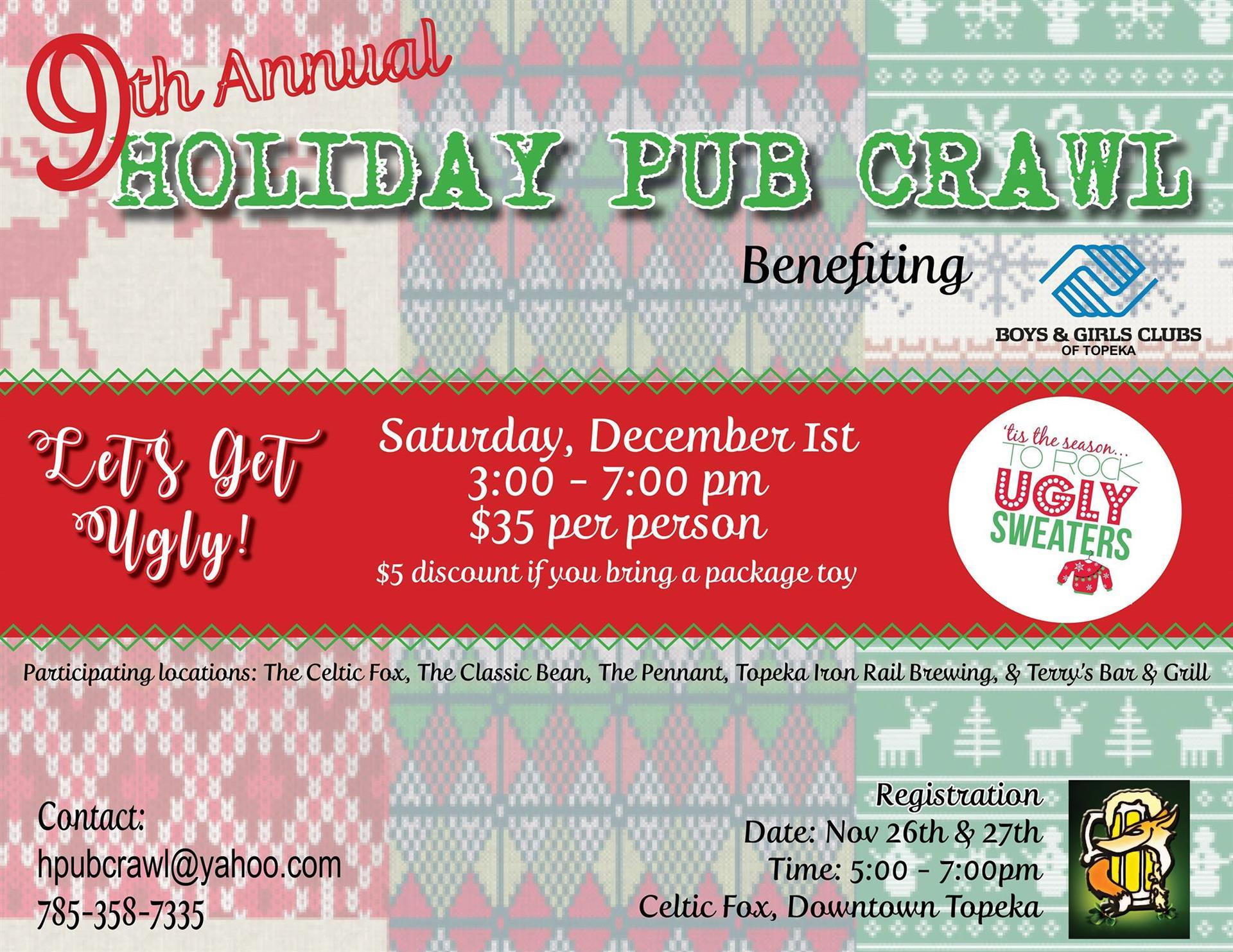 Holiday Pub Crawl