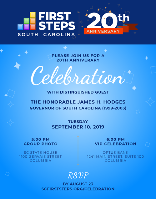 SC First Steps Turns 20!