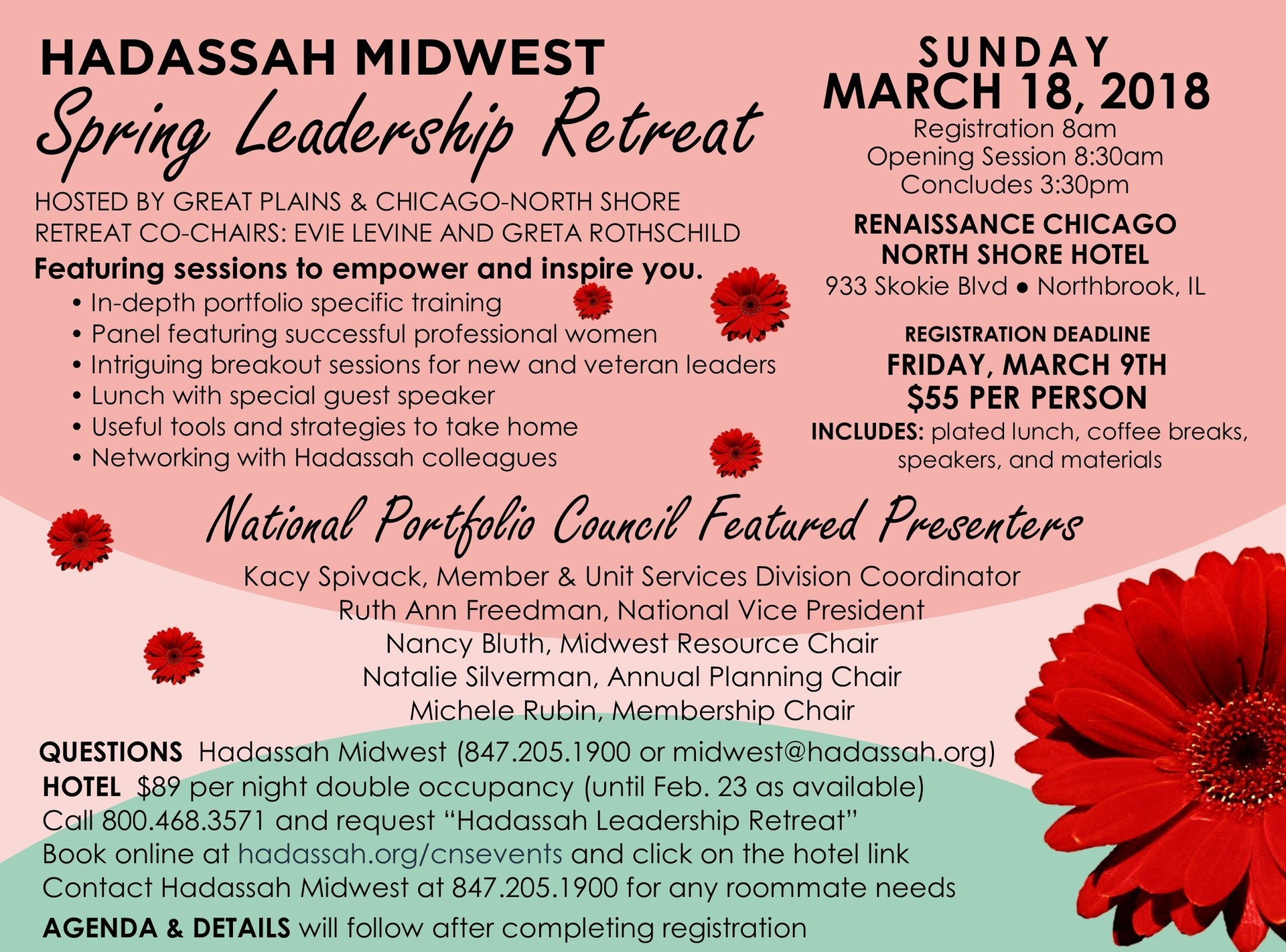News from Hadassah Chicago-North Shore