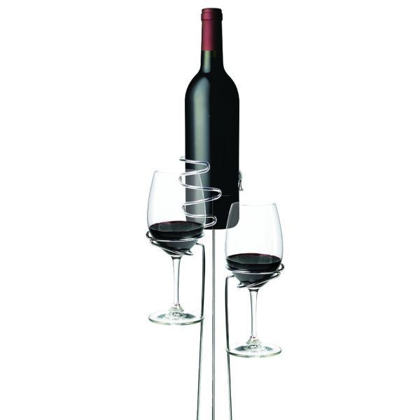 Picnic Stix - Wine Bottle and Wine Glass Stakes