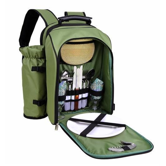 Picnic Backpack with Wine Duffel