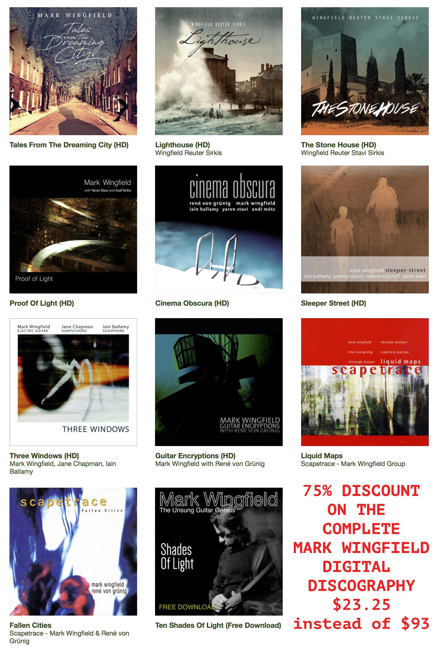 Innovative British Guitar Poet MARK WINGFIELD Releases