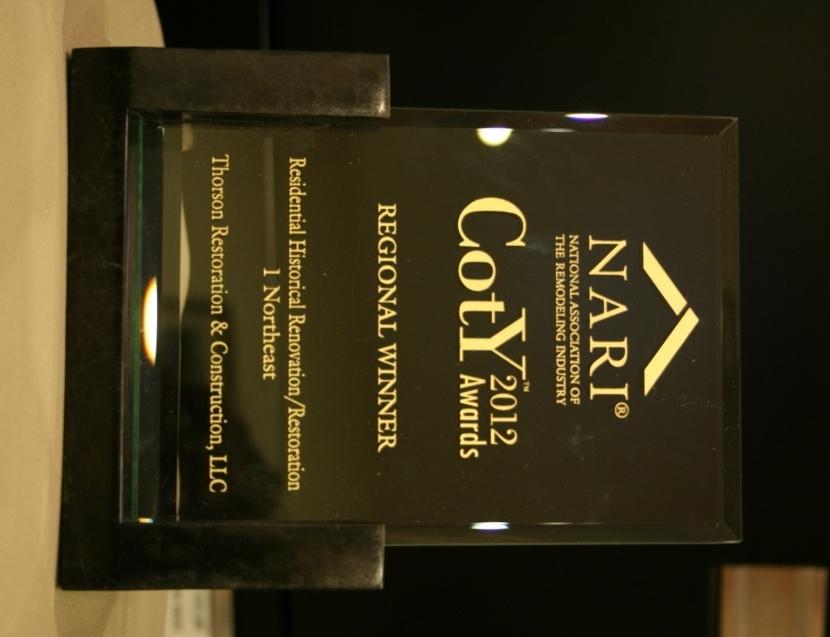 2012 NARI coty award