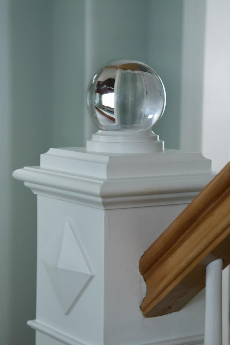 Custom Stair rail detail