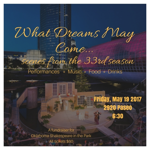 Oklahoma Shakespeare in the Park Announces WHAT DREAMS MAY COME