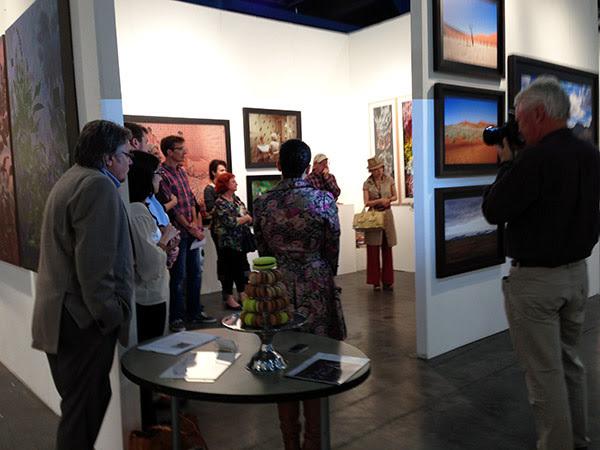 Yvonamor Palix Fine Arts booth