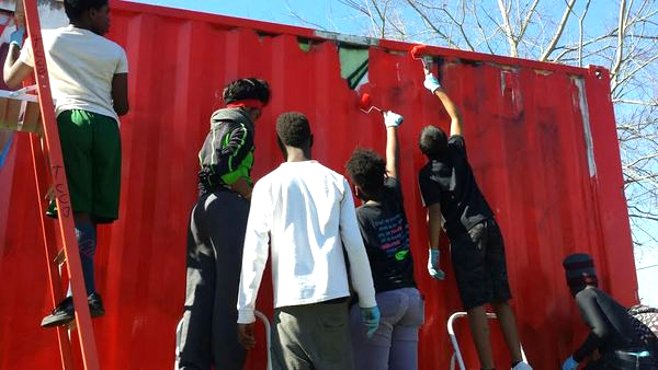 Agape Students painting