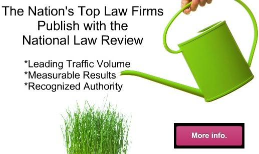 National Law Review Legal Publishing