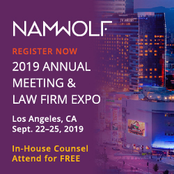 NAMWOLF Nat Assoc of Women Minoirty Owned Law Firms