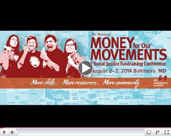 Money For Our Movements