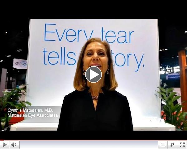 TearLab Takeaways at AAO Cynthia Matossian, M D