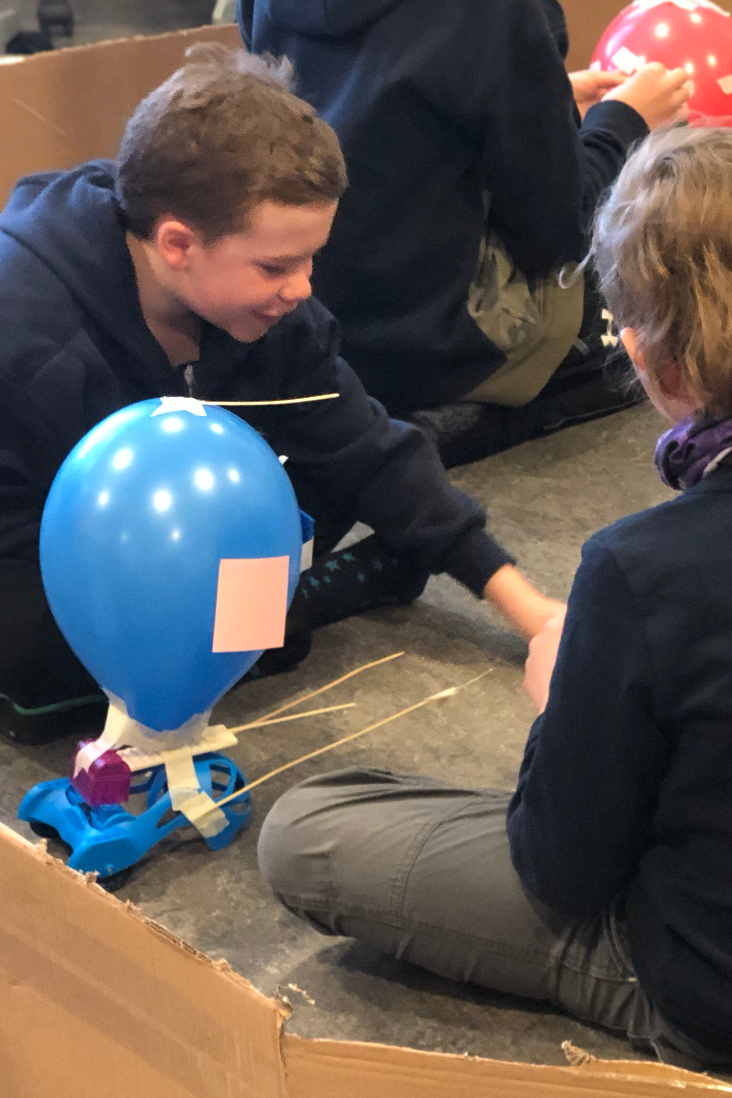 Teens Modifying BattleBots