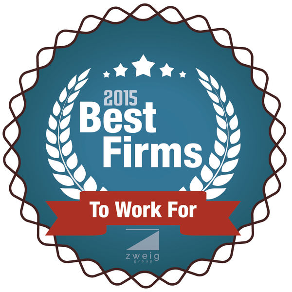Zweig Group's 2015 Best Firms to Work For Award