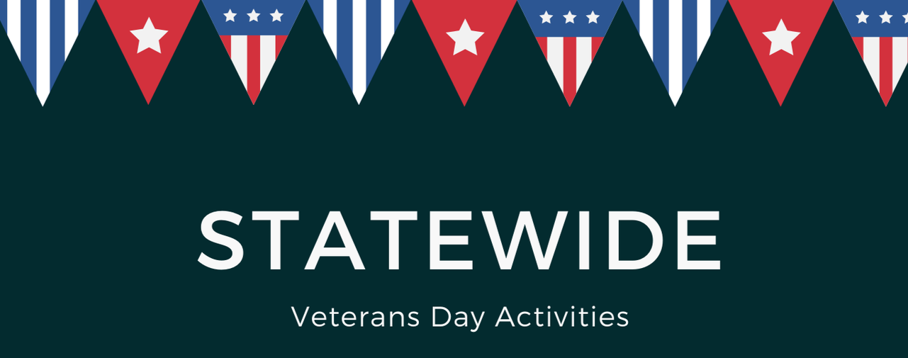 Statewide Veterans' Day Activities