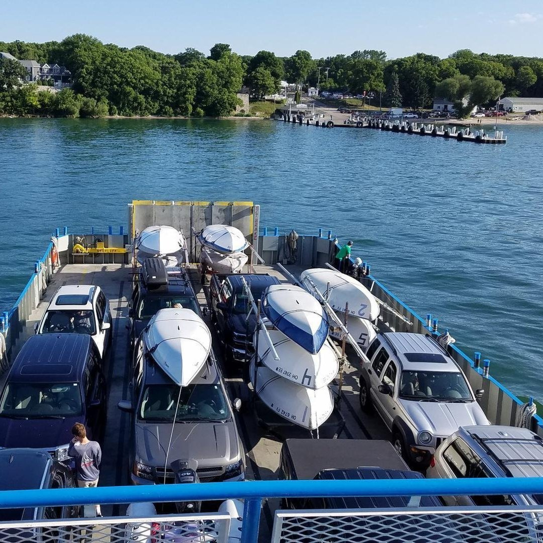 I-LYA Sailors aboard Miller Ferry to Put-in-Bay