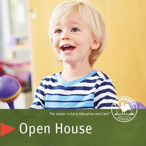 Join us for a Primrose School Open House Celebration
