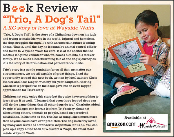 Find this book at Wayside Waifs retail store- Whiskers & Wags